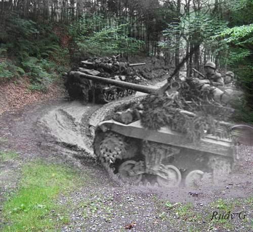 Entering Germany 1944