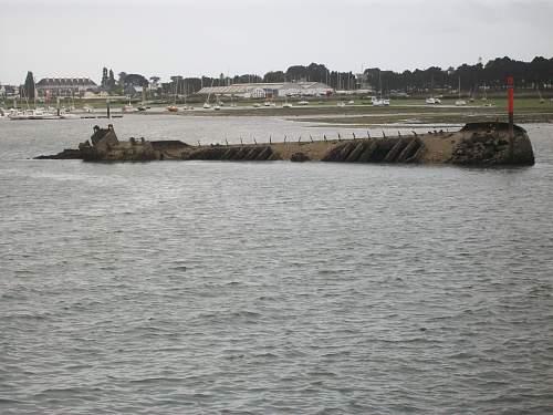 Lorient Submarine pens