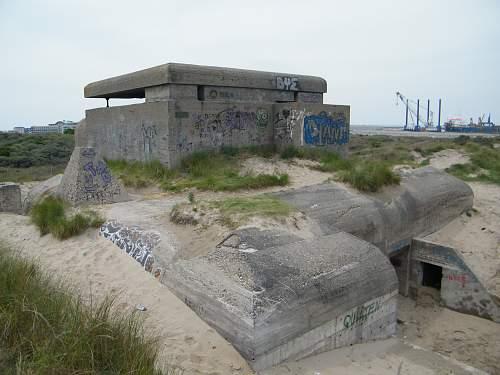 Ijmuiden Atlantik wall bunkers and museum