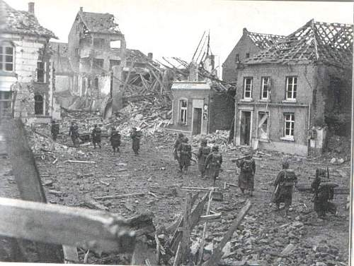 My village in Germany 1945 and 2005