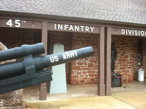 Oklahoma 49th US Inf Div museum.