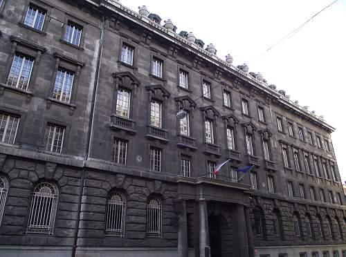 Gestapo HQ Prague