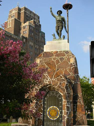 Doughboy monument Meridian Mississippi