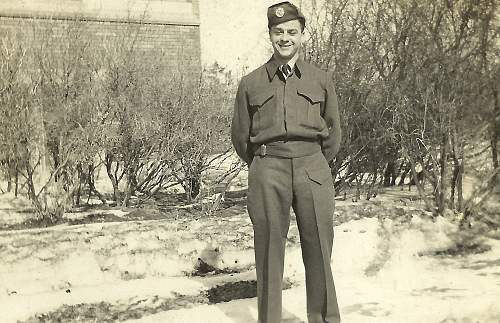 My Great Uncle: Sgt Sid Thompson: Royal Air Force