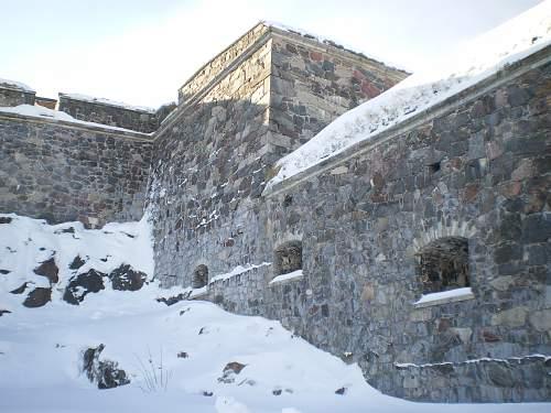 Suomenlinna Island Fortress, Helsinki, Finland 2012.