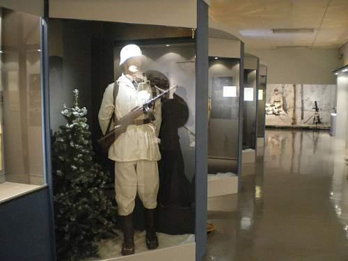 Helsinki Museum's Winter War Exhibition.
