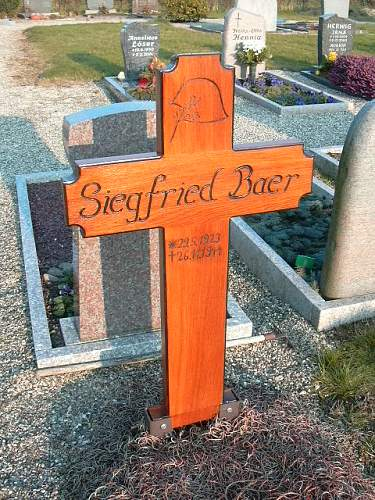 A relatives resting place