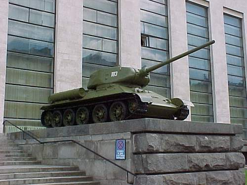 Central Armed Forces Museum - Moscow, Russia