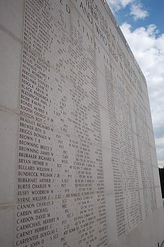 American WW 2 Cemetery in Hamm ( Luxemburg )