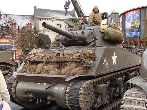 """Nuts"" weekend in december in Bastogne   ( Belgium )"