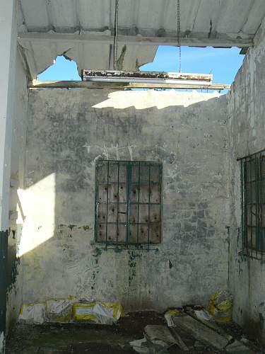 1943 dated ww2 waterpump house