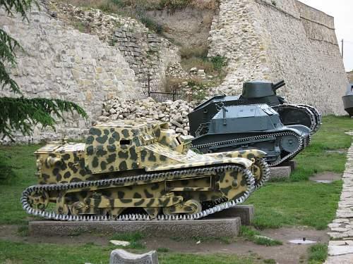 Tank museum in Belgrade 1st part