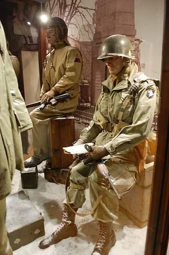 "101 Airborne museum in Bastogne "" Le Mess """