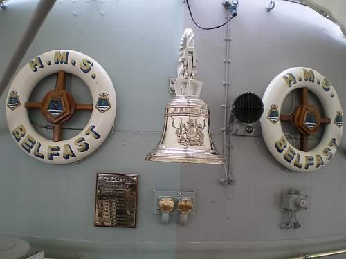 HMS Belfast, London.