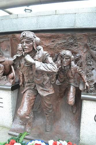 The Battle of Britain Memorial London.