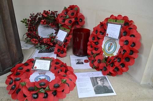 Bomber Command Memorial -  Hyde Park Corner, London.