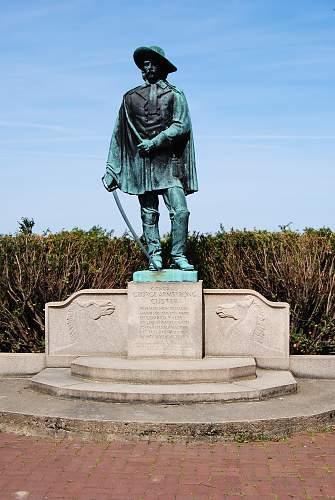 George Custer Monument.