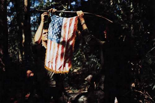 Dak To, Vietnam, First Sgt. Benjamin Reynolds and 1st Sgt. Robert M. Baker, both of Co. B, 3rd B.jpg
