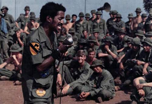 Entertainer Sammy Davis Jr. performs for members of the 1st Cavalry Division (Airmobile) in an u.jpg