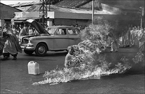 June 11, 1963 Quang Duc, a Buddhist monk, burns himself to death on a Saigon street to protest a.jpg