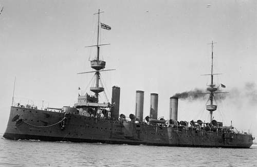 From the teak of HMS TERRIBLE whose guns relieved Ladysmith