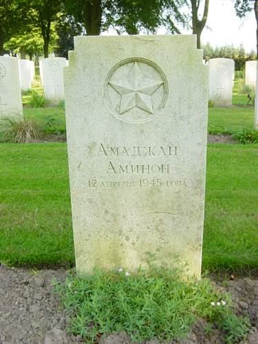 An interesting grave