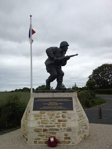 101st memorial at brecourt manor
