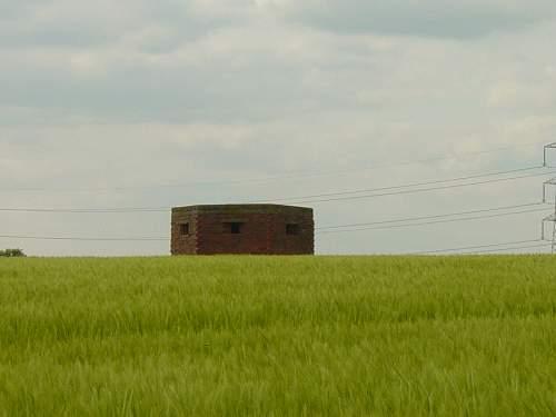 British brick built bunker, circa 1940