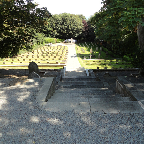 German military graves