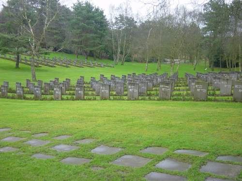 The German Military Cemetery Cannock Chase England