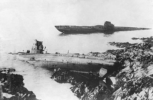 German U-boats off Falmouth