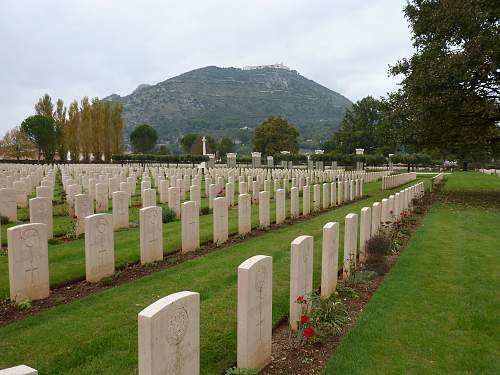 70th anniversary of the battle of monte camino italy