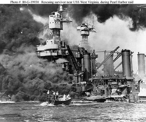 December 7th 1941...72 year anniversary of Pearl Harbor