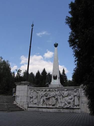 Russian cemetery/monument, Svidnik