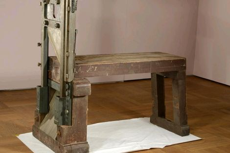 In the news; German Guillotine found