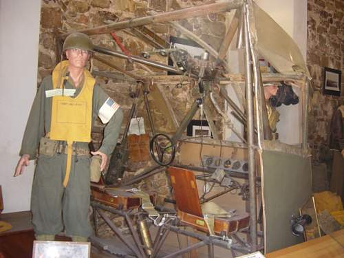 Museum. Waco glider cockpit..JPG