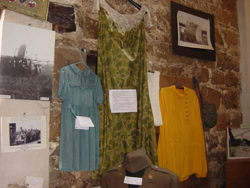 Museum. Clothes from Parachutes..JPG