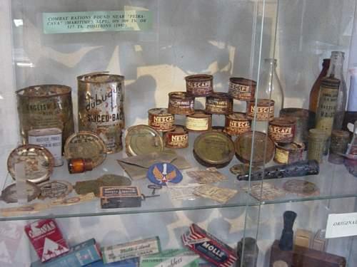 Museum. US rations..JPG