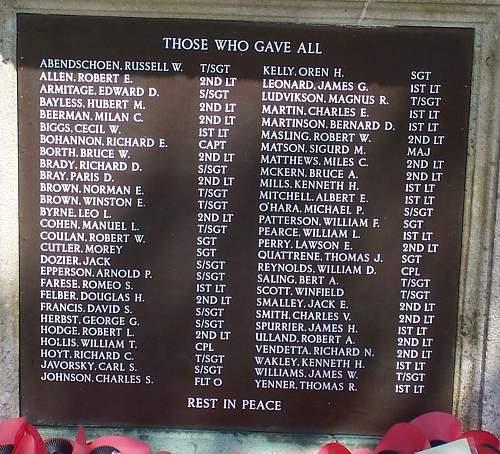 Polish Parachute Brigade Associated Memorials