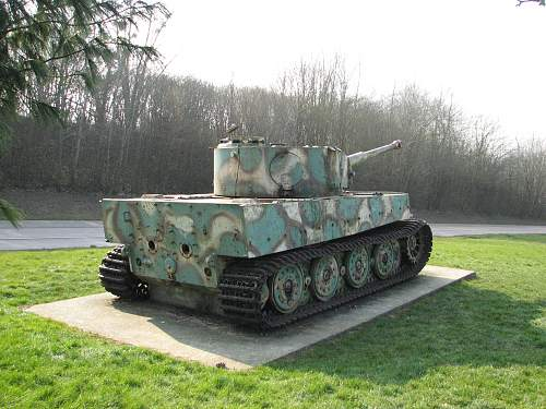 The Vitmoutiers Tiger - a history