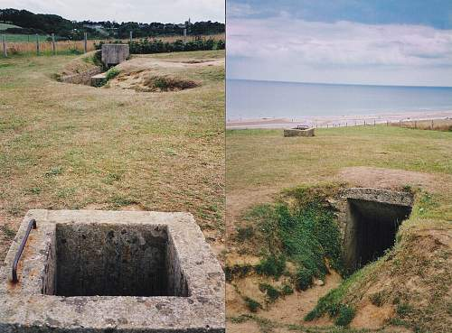 What the Beaches of Normandy Look Like, Then and Now