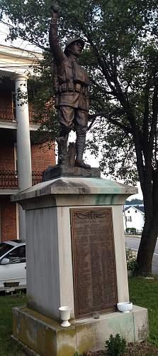 WWI Dough Boy Memorial