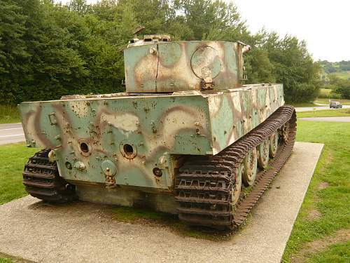 The Vimoutiers Tiger - a history