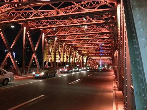 The Waibadu bridge, Shanghai.