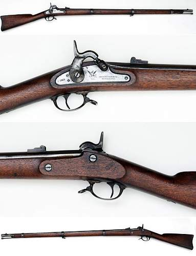 Click image for larger version.  Name:Fine M-1861 Contract Musket by Parkers Snow & Co.jpg Views:2 Size:57.4 KB ID:817905