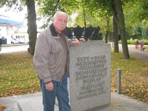WWII German unitt Memorial