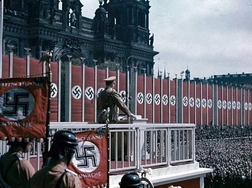 Click image for larger version.  Name:20 Adolf Hitler speaking at the Lustgarten, Berlin, 1938.jpg Views:2 Size:154.7 KB ID:840453