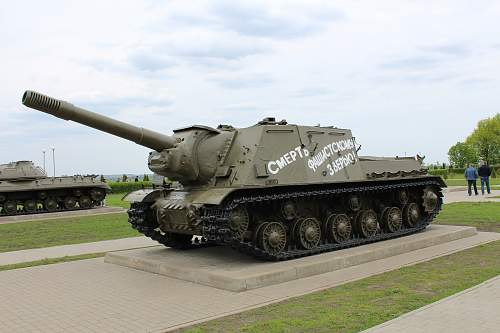 Visit to Kursk, The southern Salient.