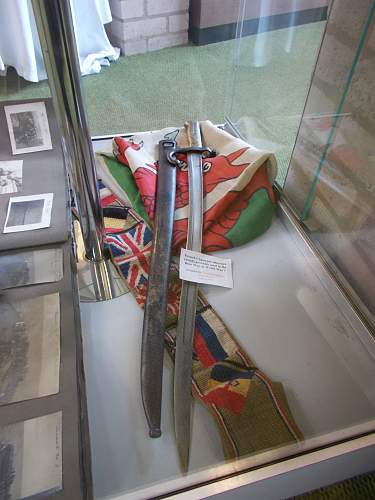 a small section of ww1/ww2 displays in llangollen north wales