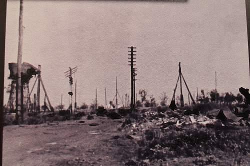 Kursk; Northern shoulder and Rokossovskys command post.